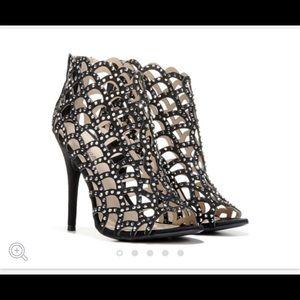 Zigisoho black heels